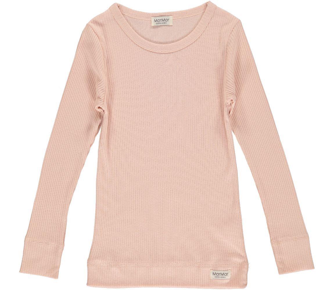 MarMar Plain LS t-shirt, rosa, 80