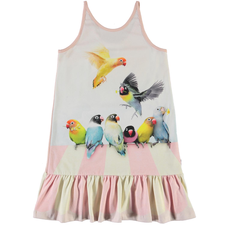 Molo Carrie ærmeløs kjole, Love birds, 110/116