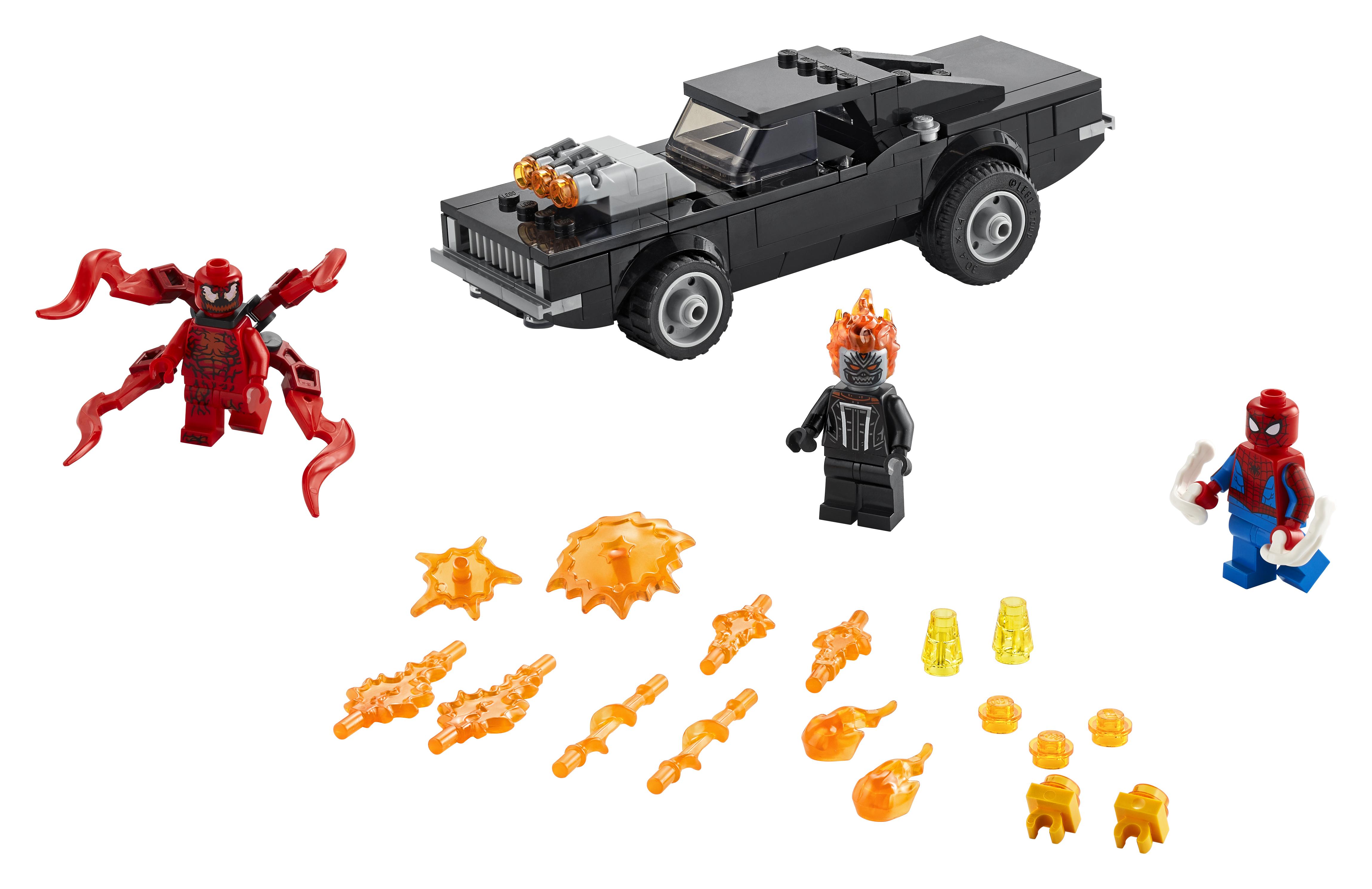 LEGO Super Heroes Spider-Man og Ghost Rider mod Carnage - 76173