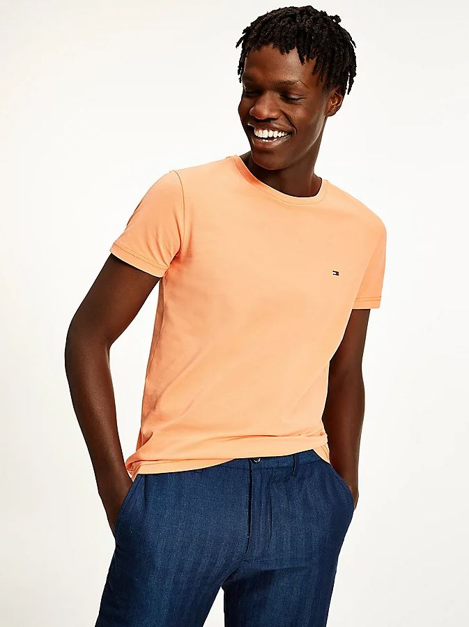 Tommy Hilfiger Slim Fit t-shirt, summer sunset, small