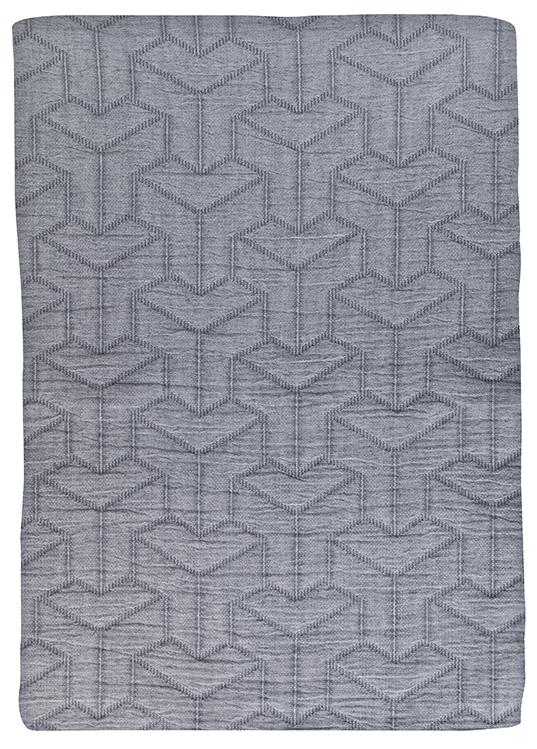 Mette Ditmer Trio sengetæppe, dark grey