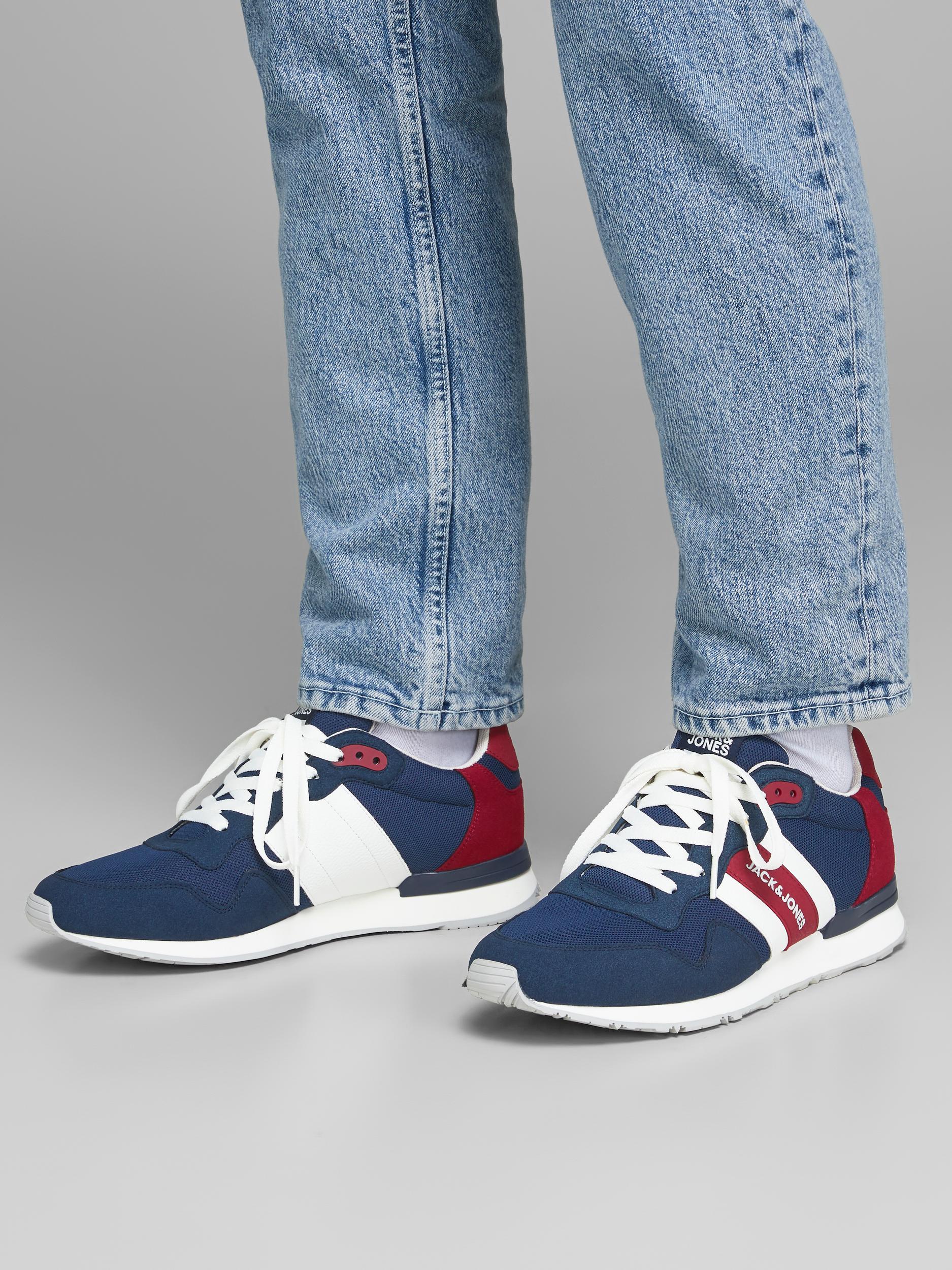 Jack & Jones Stellar Mesh sneakers, majolica blue, 46