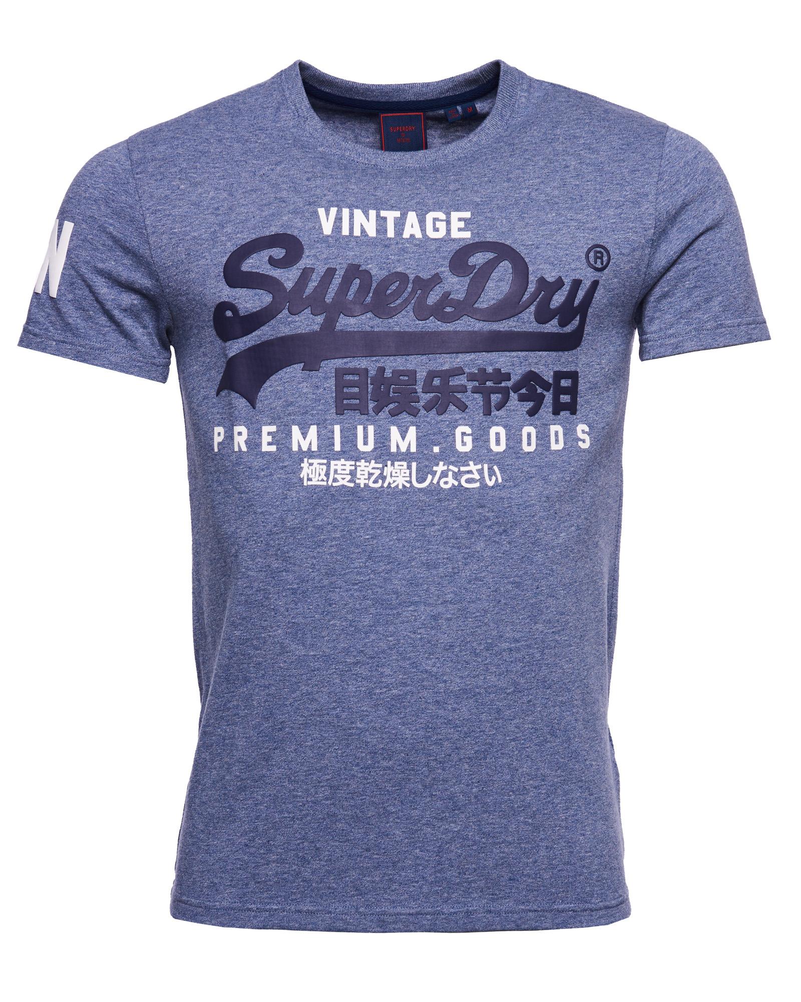 Superdry Vintage Logo T-shirt, Blå, M