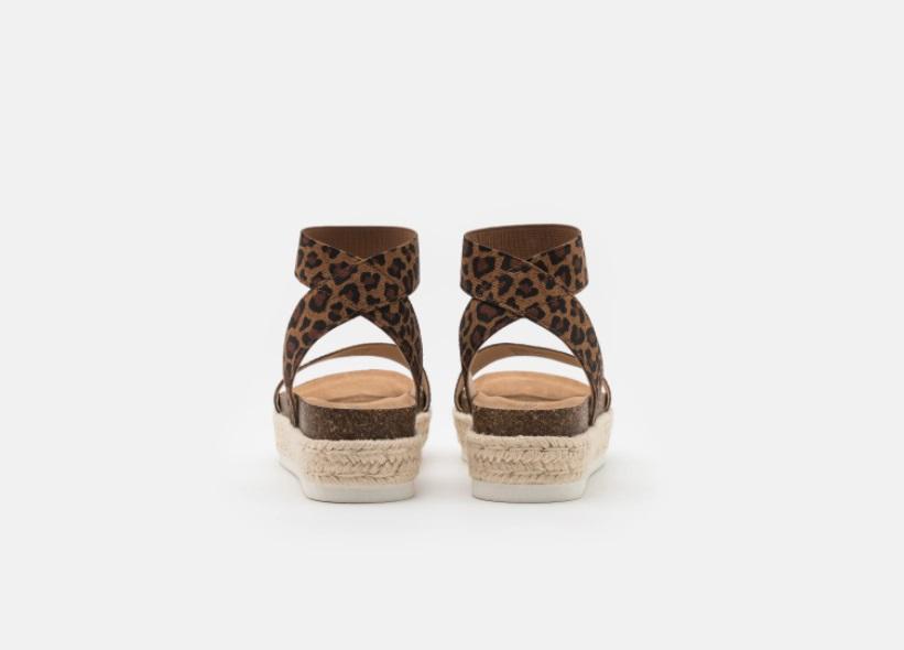 Steve Madden JLayne sandal, spotted leopard, 31