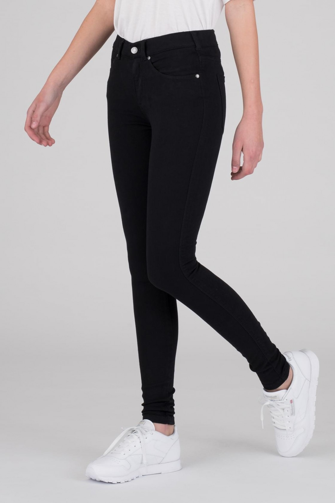 Dr. Denim Lexy Mid-Waist jeans, black, x-small