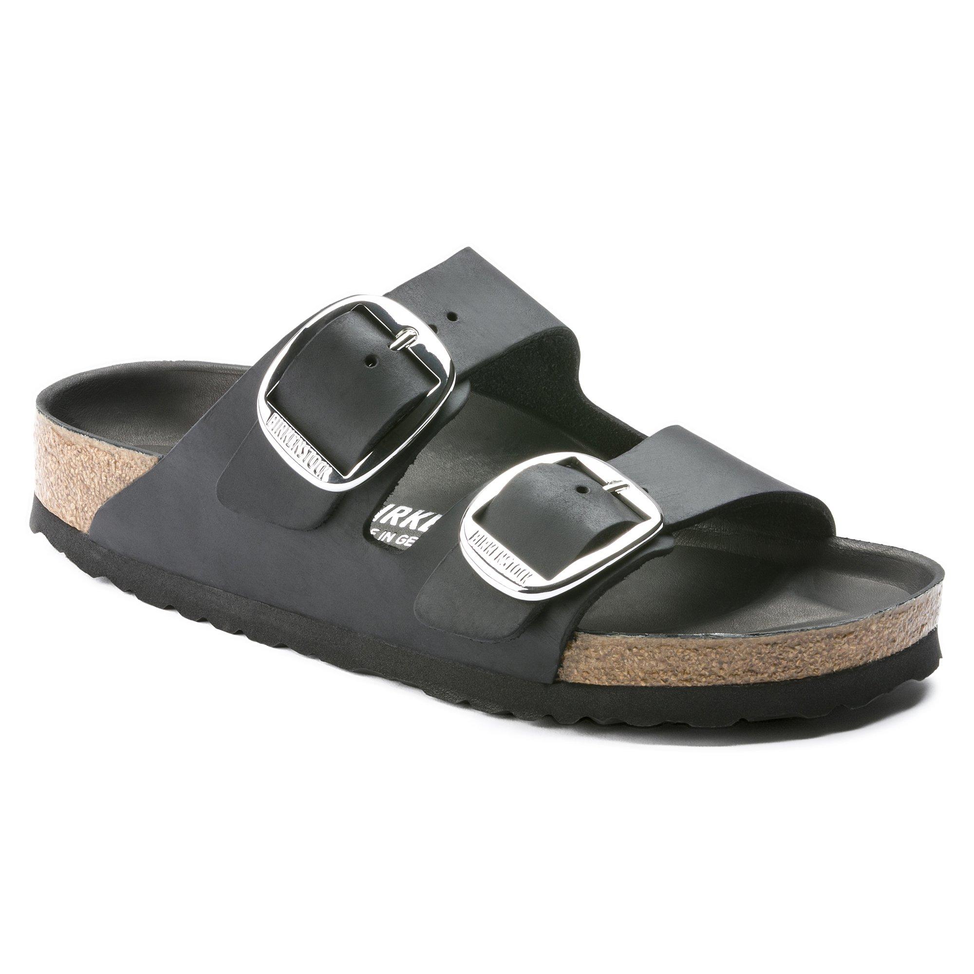 Birkenstock Arizona Big Buckle sandal, black, 37