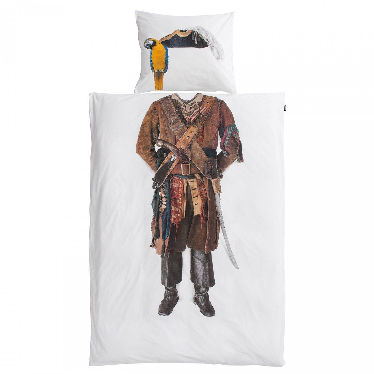 SNURK sengetøj, Pirat, 100x140 cm