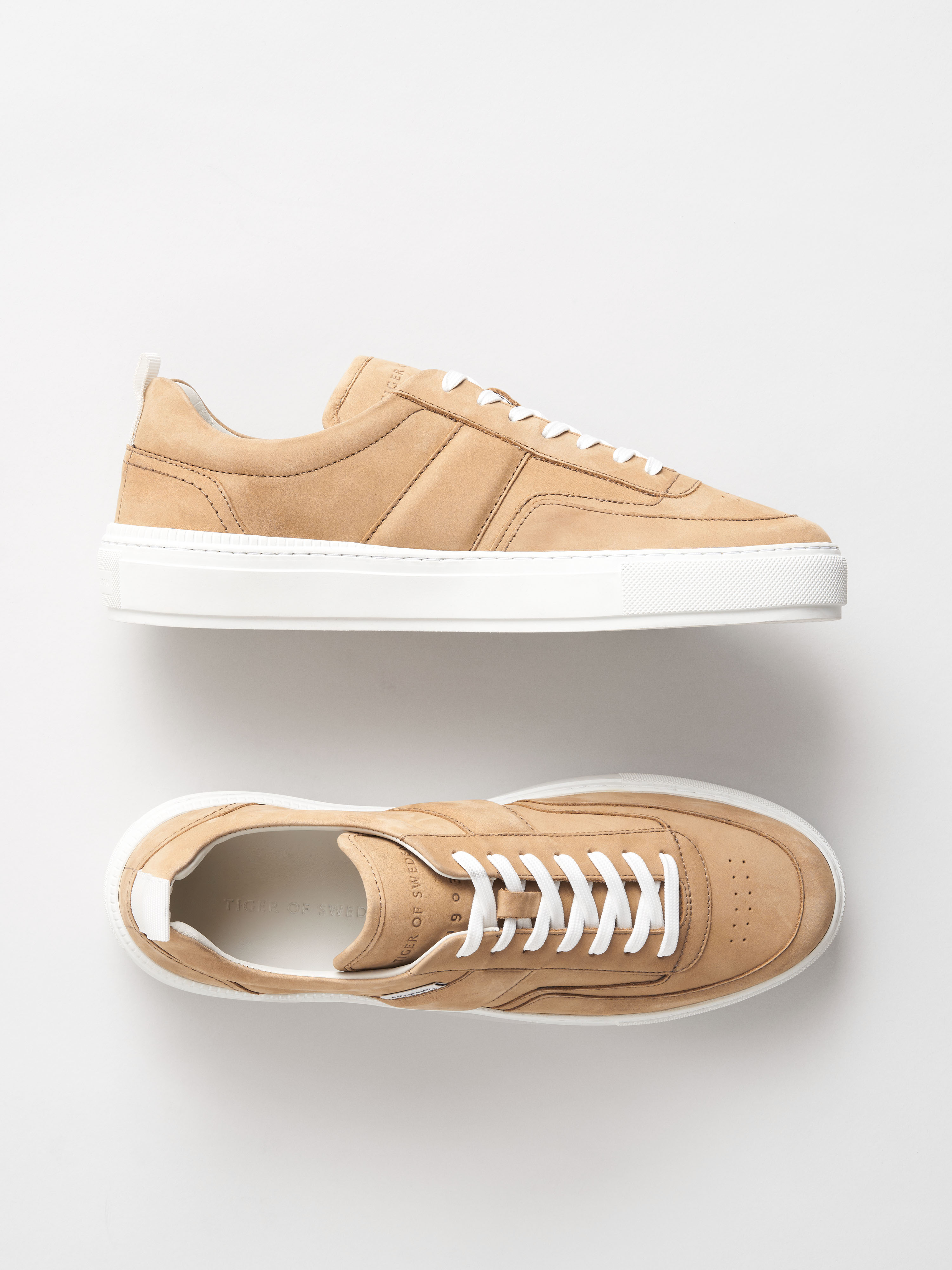Tiger of Sweden Salo sneakers, putty beige, 40