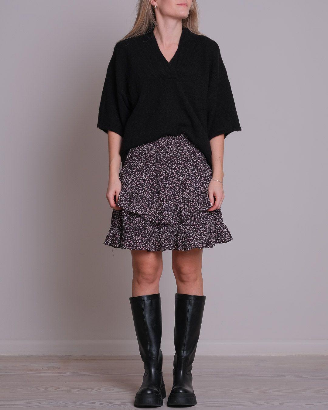Neo Noir Line Eden nederdel, black, x-small