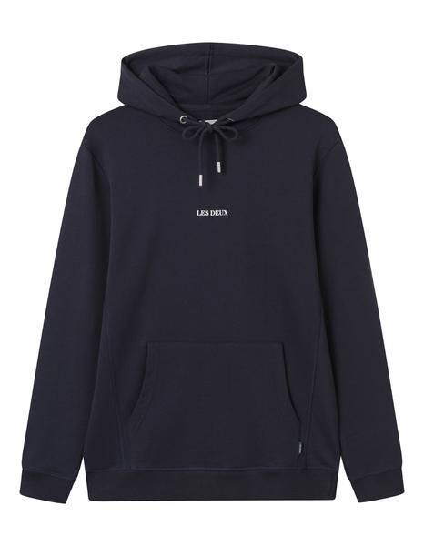 Les Deux Lens hoodie, navy, medium