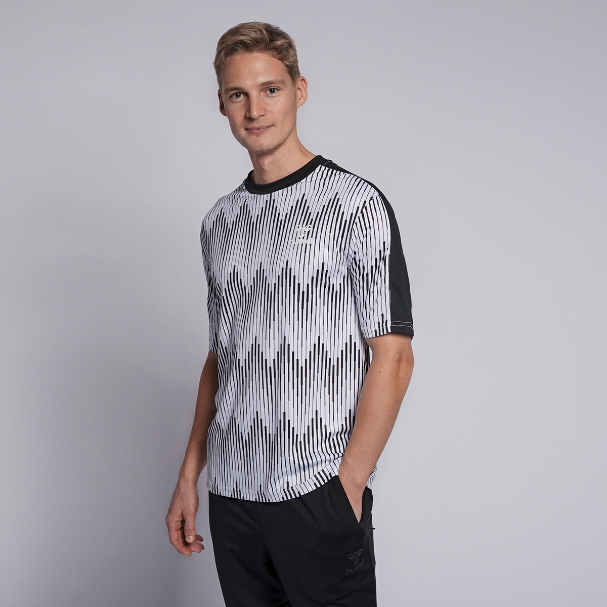 Hummel Blaze t-shirt, white, medium