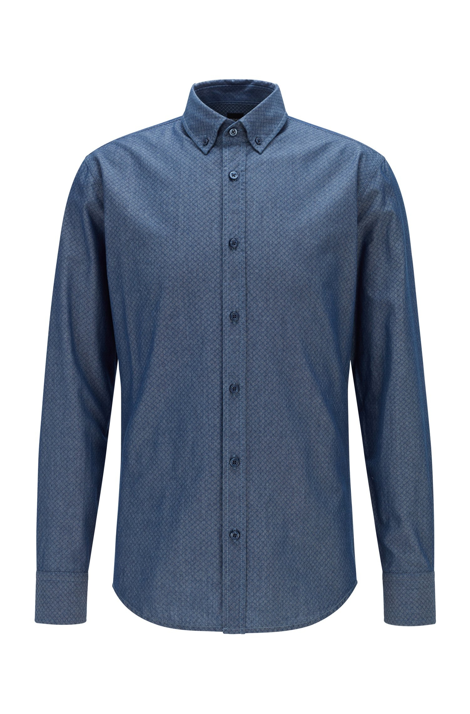 Hugo Boss skjorte, Dark Blue, XXX-large