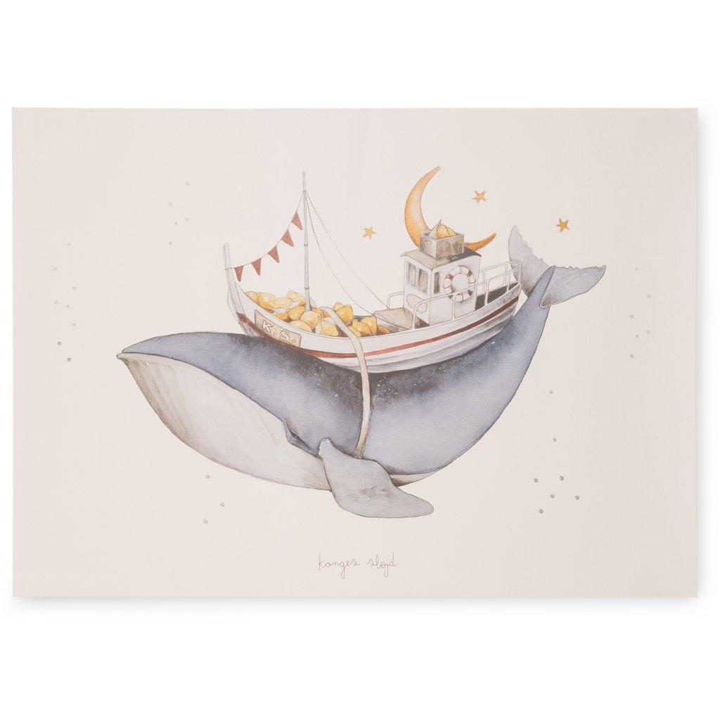 Konges Sløjd plakat, Whale
