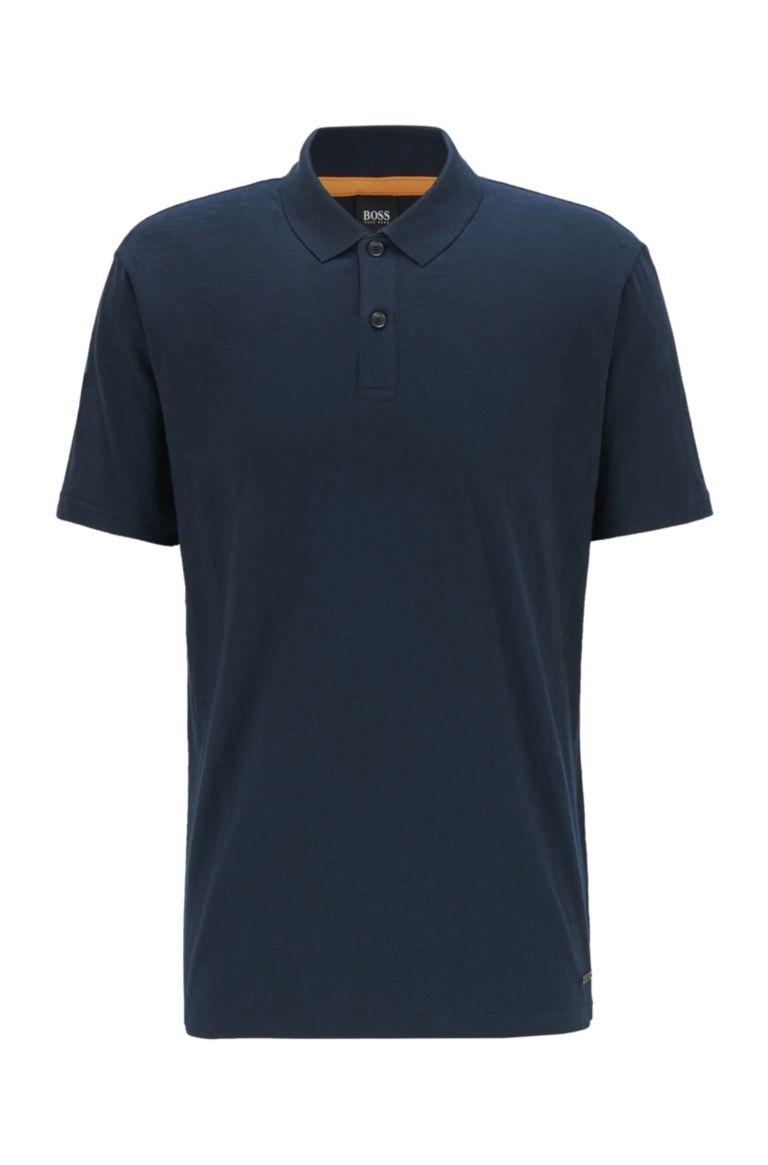 Hugo Boss Slub-cotton polo shirt