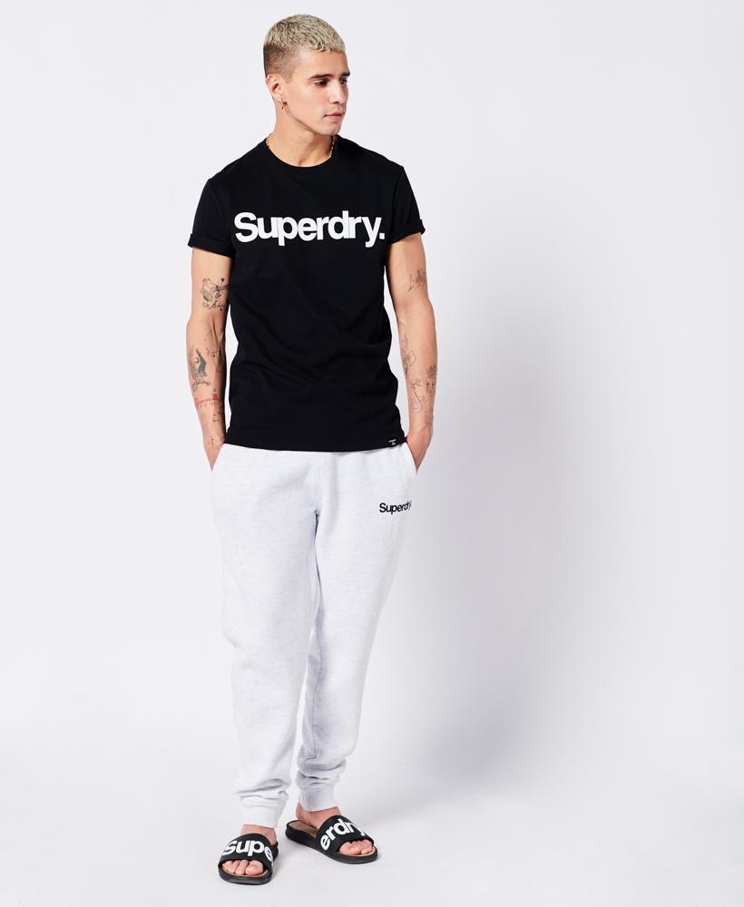 Superdry Studios Core Logo T-shirt, Sort, 3XL