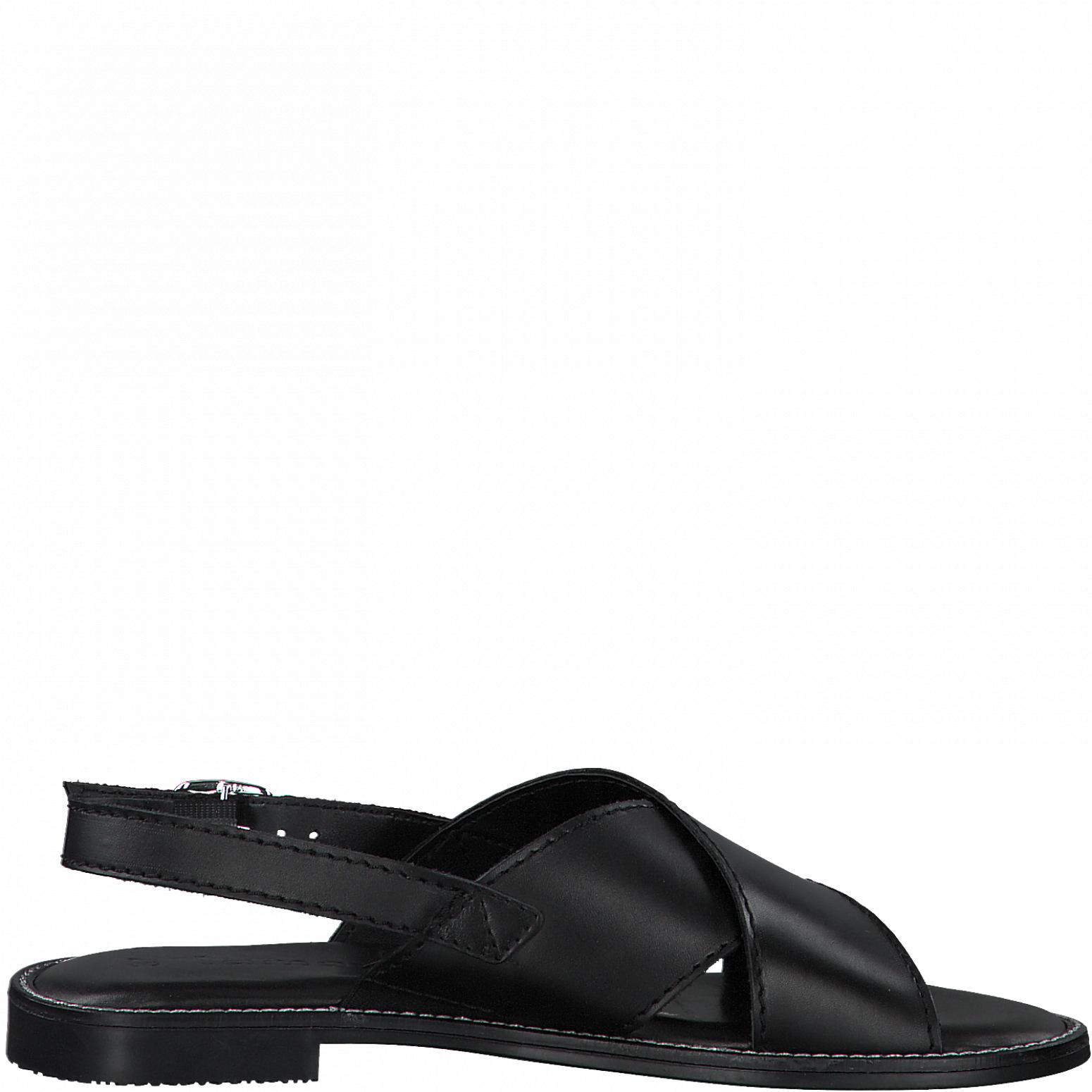 Tamaris 28119 sandal, black leather, 37