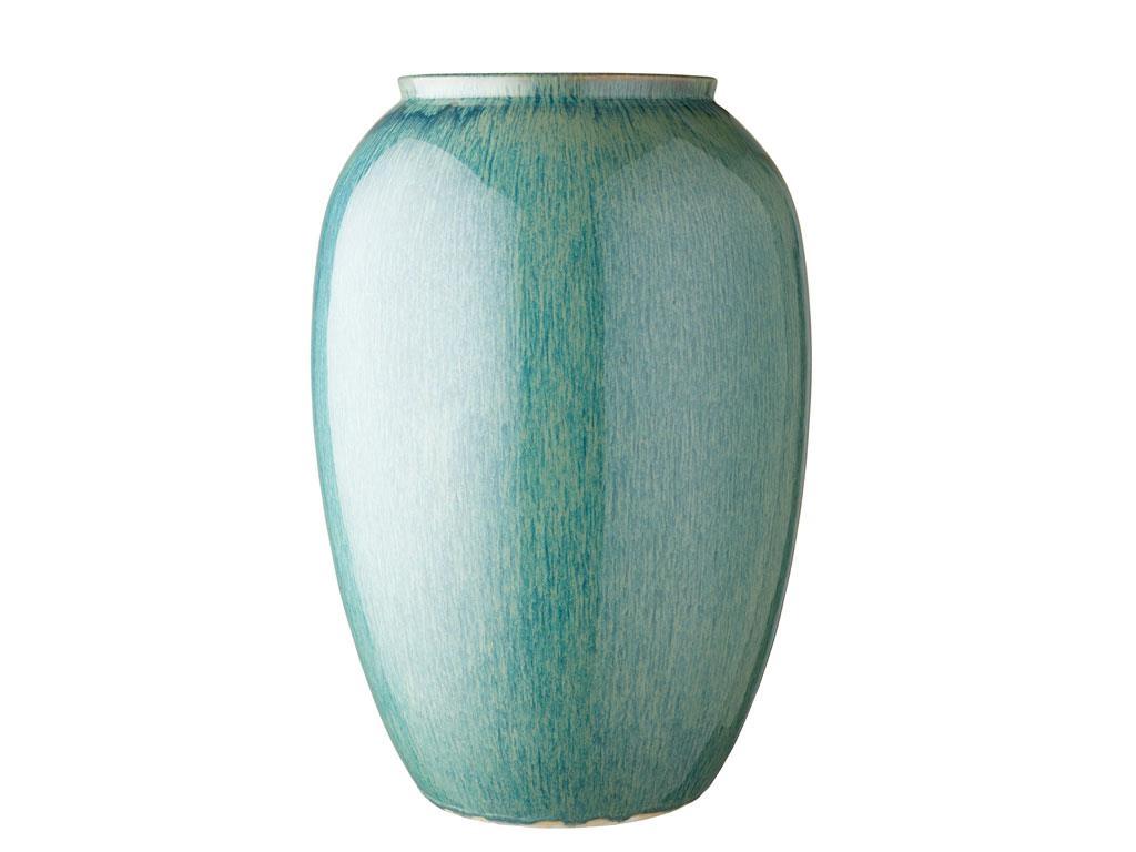 Bitz vase, 50 cm, mørkeblå