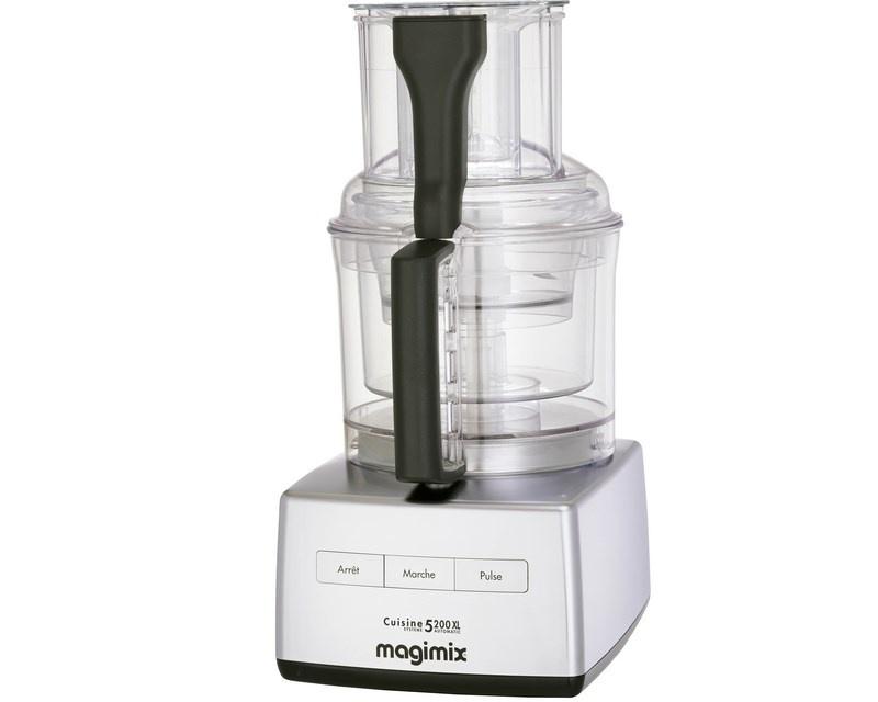 Magimix CS 5200 XL foodprocessor, mat krom
