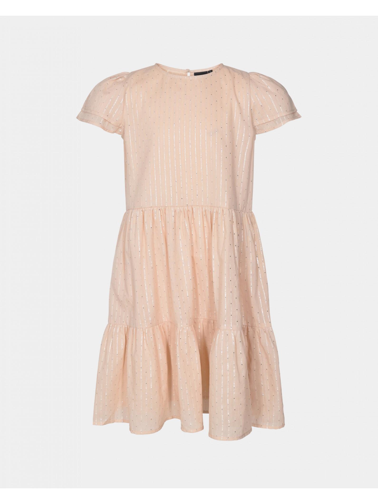 Petit by Sofie Schnoor Marlena kjole, light rose, 128