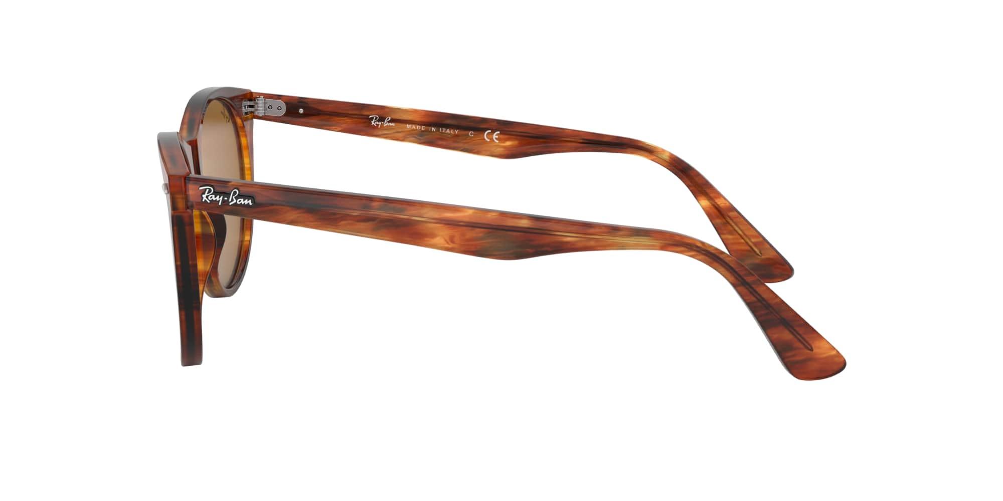 Ray Ban Wayfarer II Classic solbriller, striped havana/brown classic