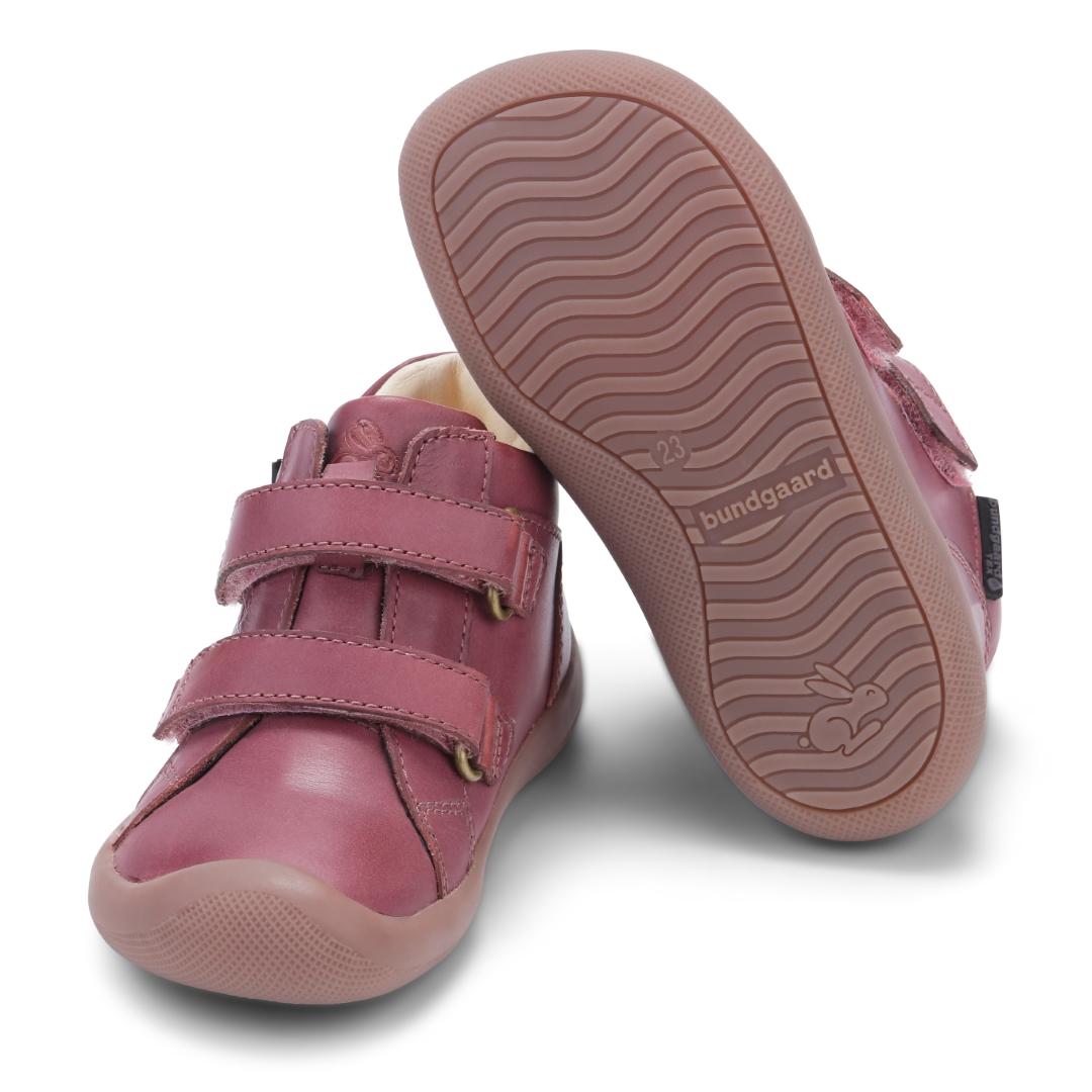 Bundgaard The Walk Velcro sko, rose, 25