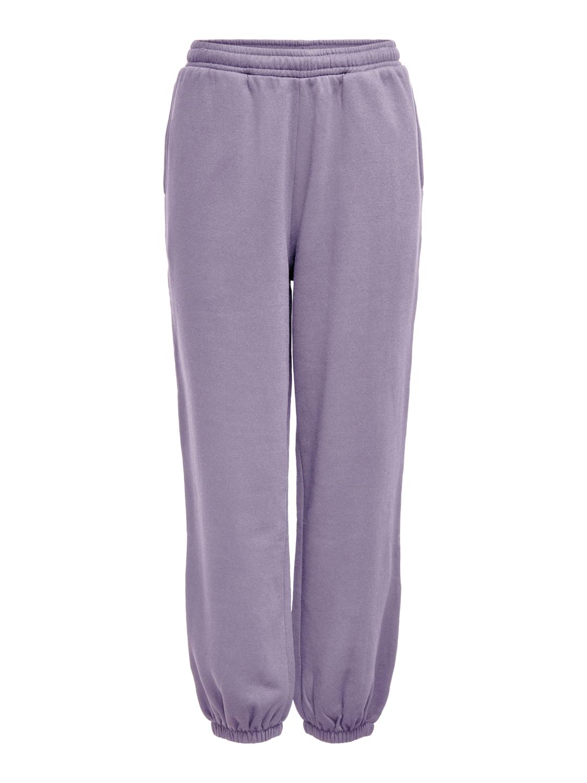 Jacqueline De Yong Paris sweatpant, lavender gray, small