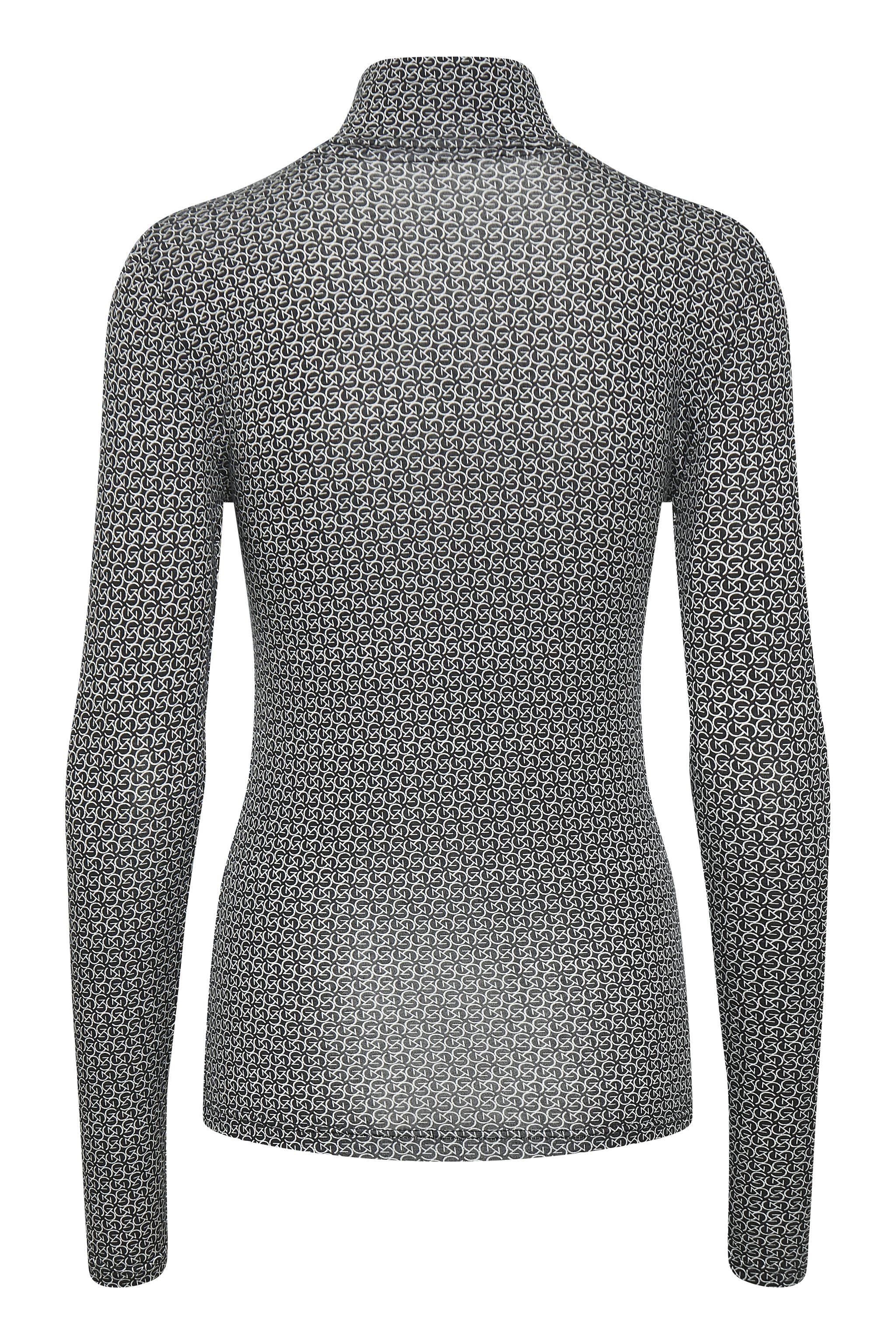 Gestuz SiriGZ langærmet t-shirt, Black Logo, L