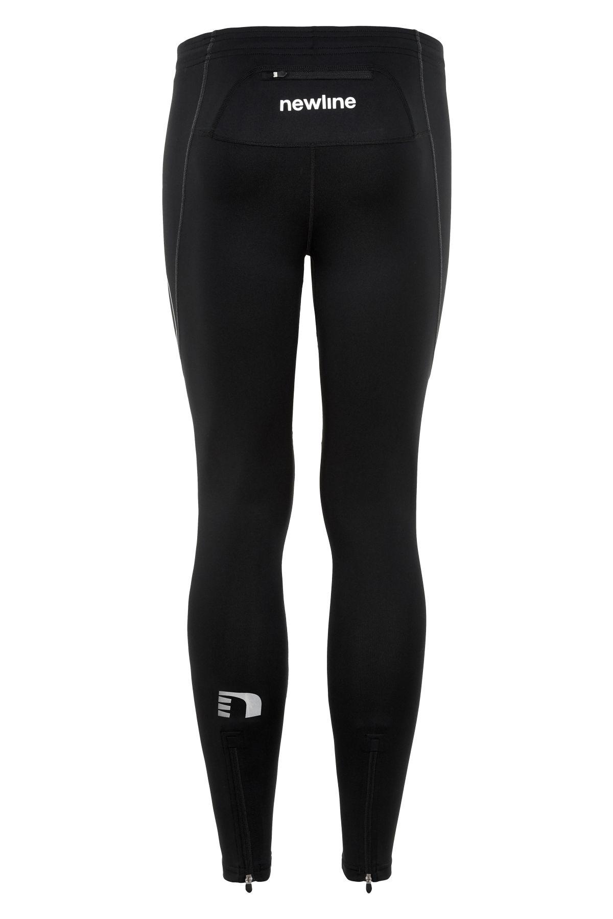 Newline Core tights, black, medium