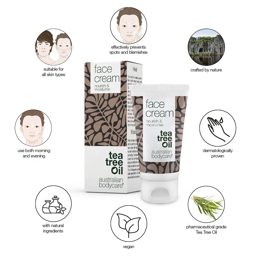 Australian Bodycare Face Cream, 50 ml