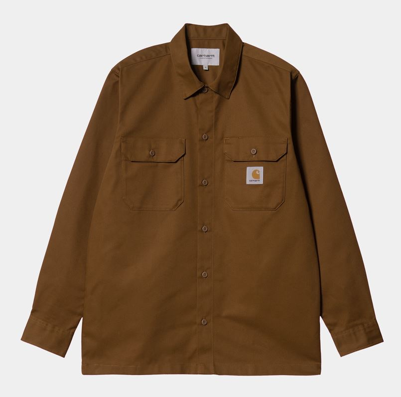 Carhartt Master LS shirt, tawny, large