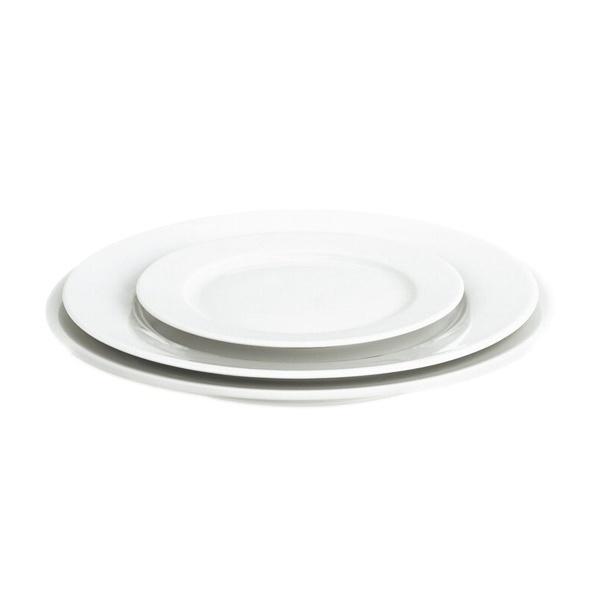 Pillivuyt Sancerre desserttallerken, Ø17 cm, hvid
