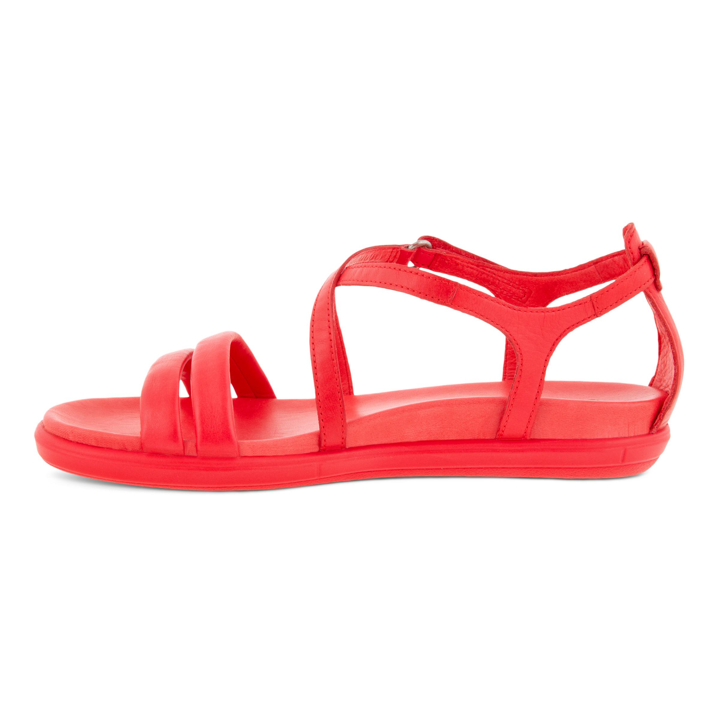 Ecco Simple sandal, red, 37