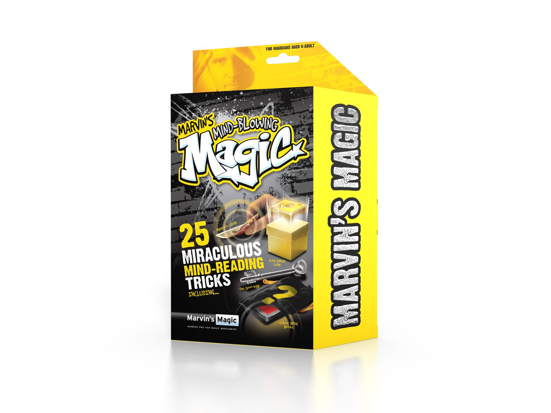 Marvins Magic Mind-Blowing Magic - 25 Utrolige Tankelæser Tricks