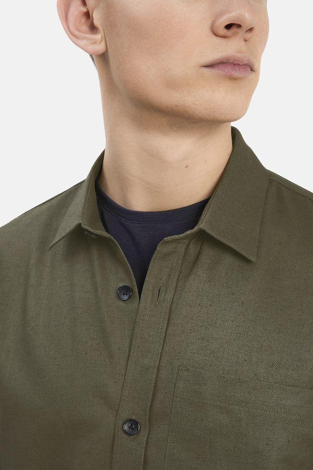 Matinique Matrite overshirt, olive night, small