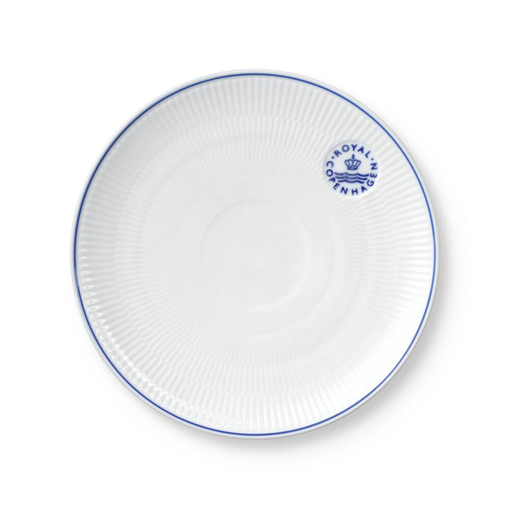 Royal Copenhagen Blueline Coupe frokosttallerken, Ø23 cm