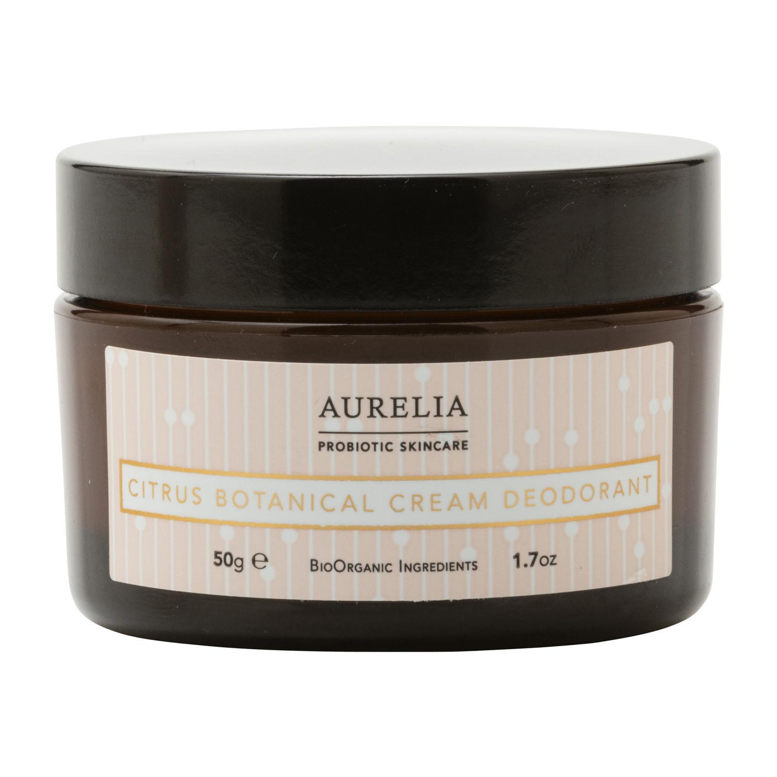 Aurelia Citrus Botanical Cream Deodorant, 50 g