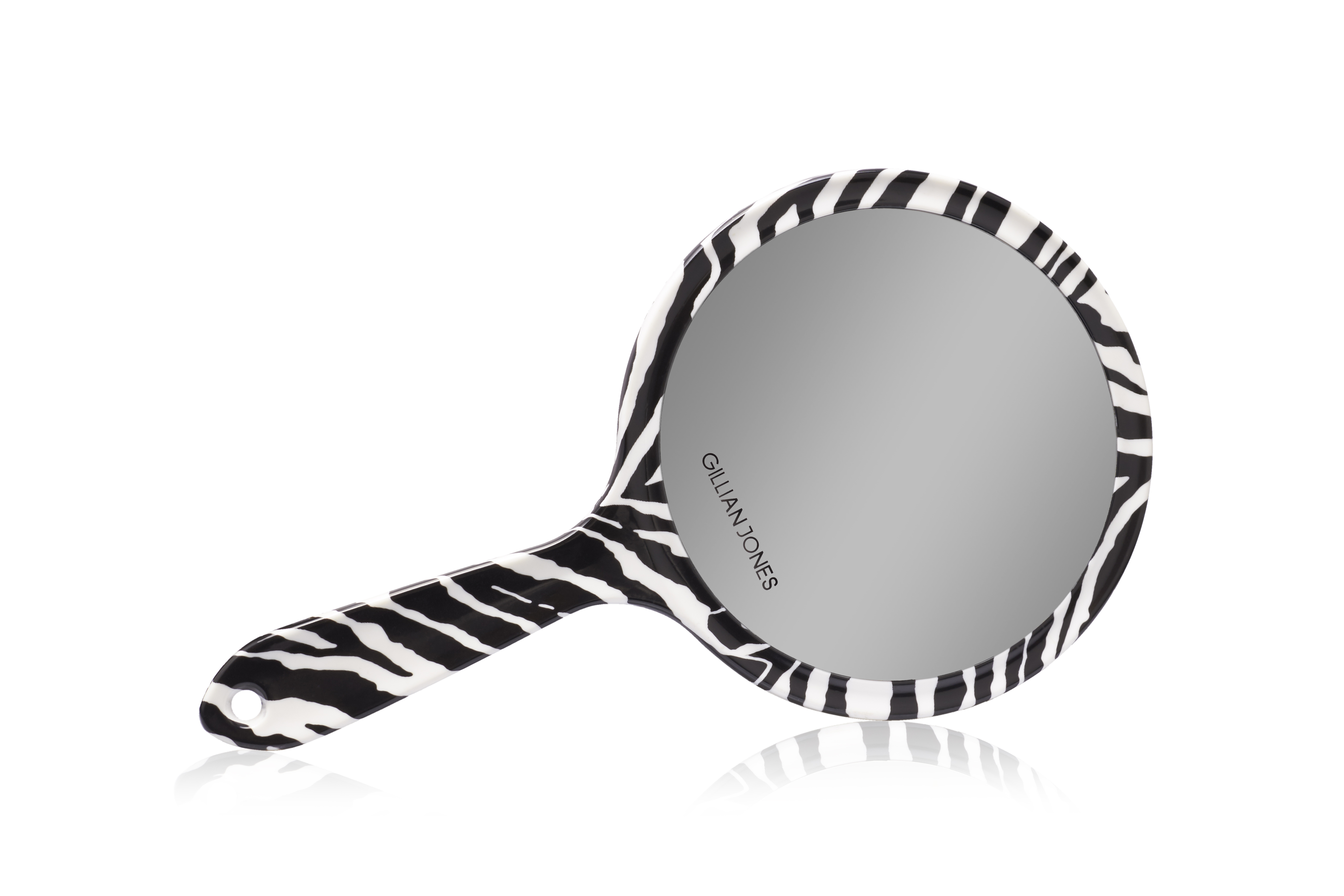 Gillian Jones håndspejl, zebra