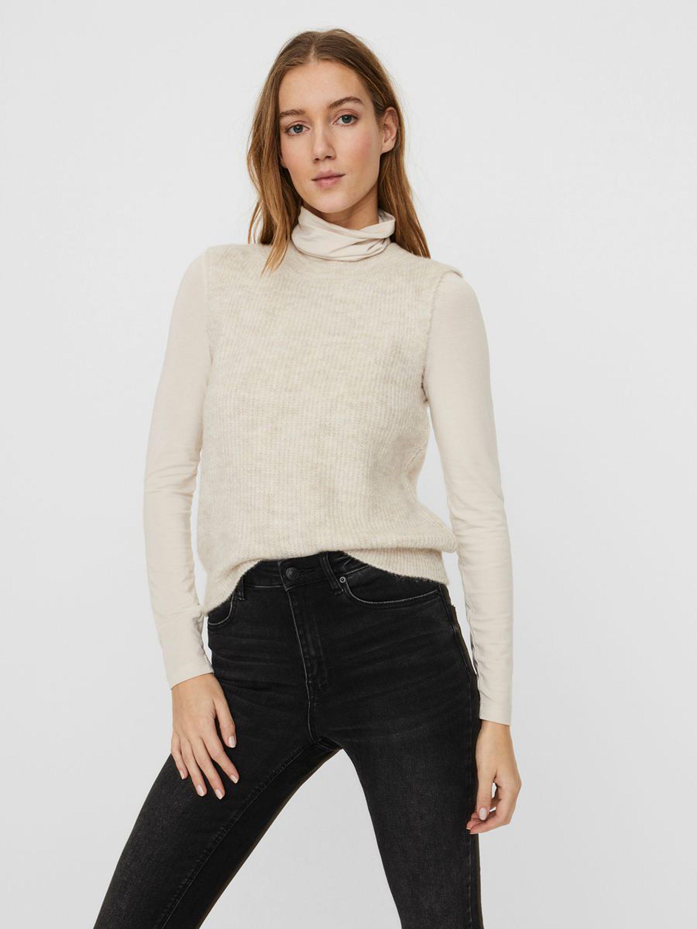 Vero Moda Olina vest, birch, x-small