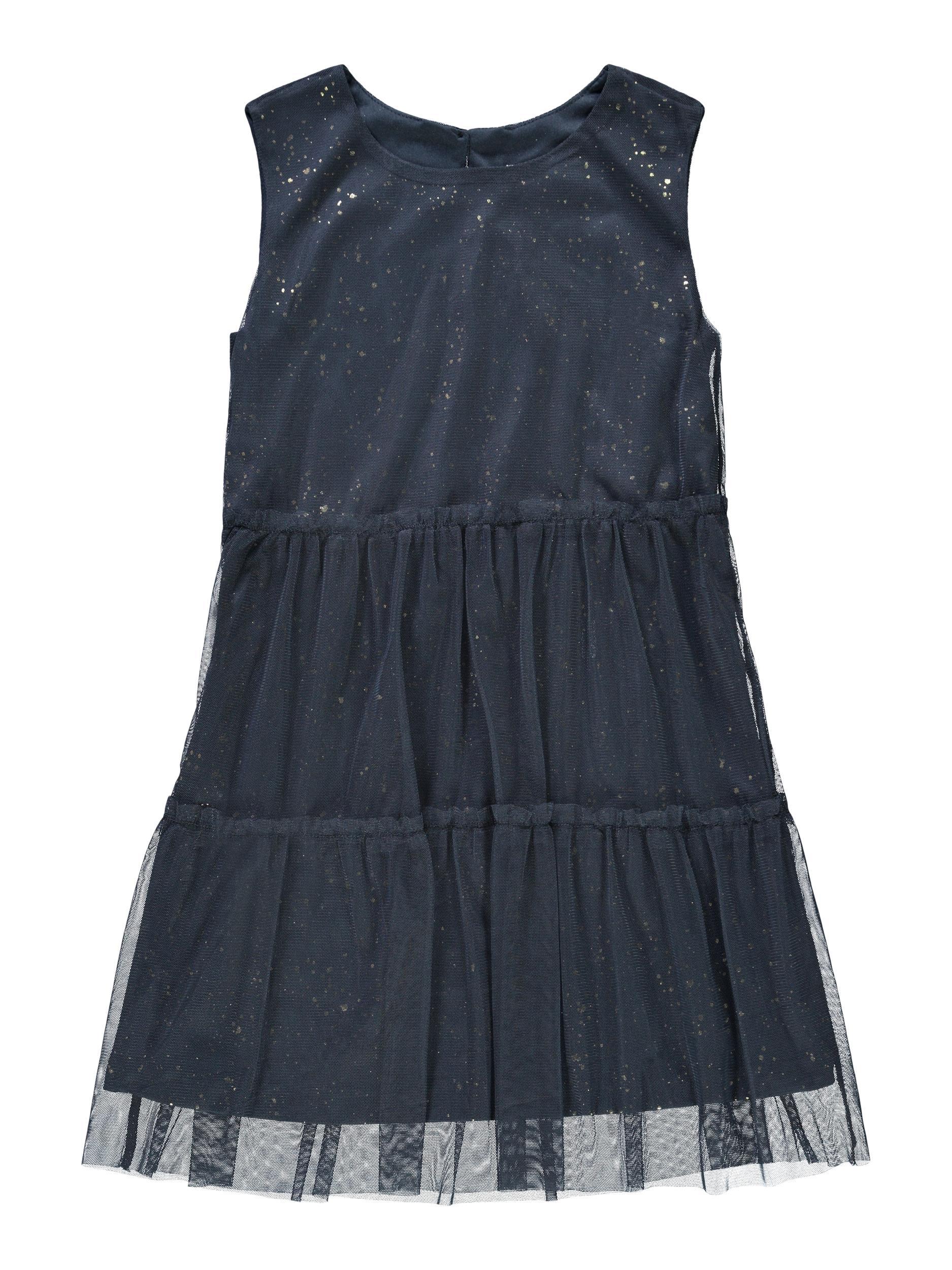 Name It Ronja ærmeløs kjole, Dark Sapphire, 140
