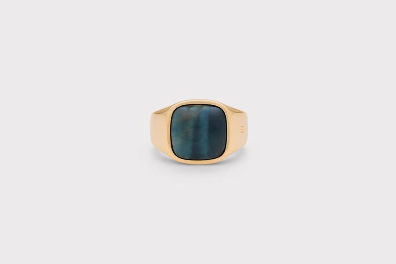Frederik IX Studios Cushion Signet ring
