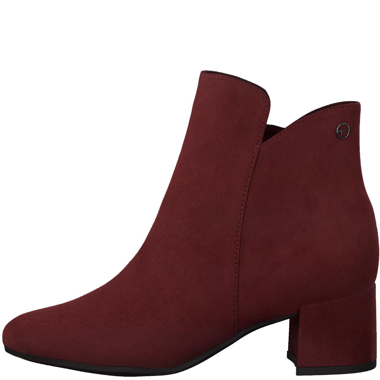 Tamaris 25372 støvle, dark scarlet, 38