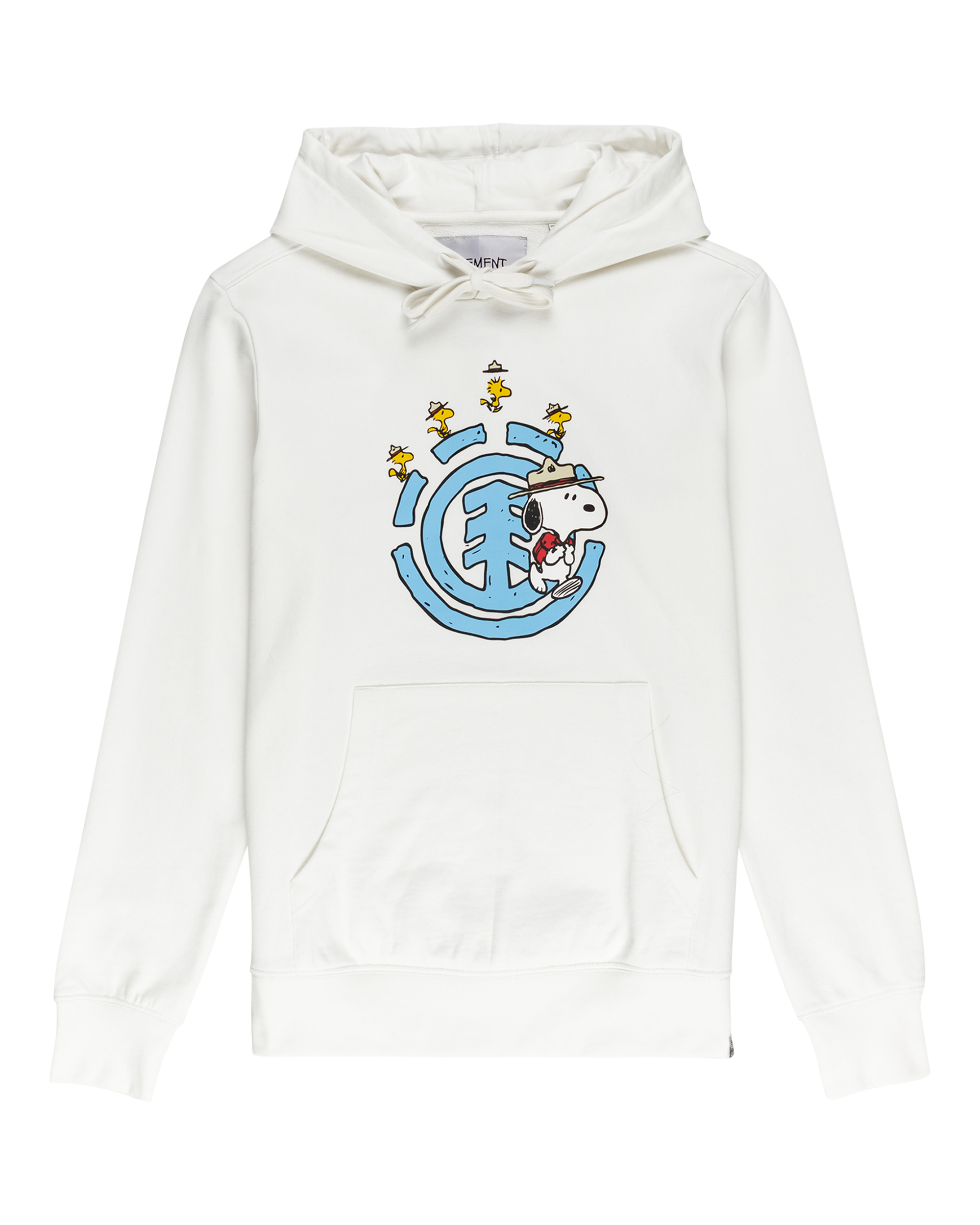 Element Peanuts hoodie, off white, x-large