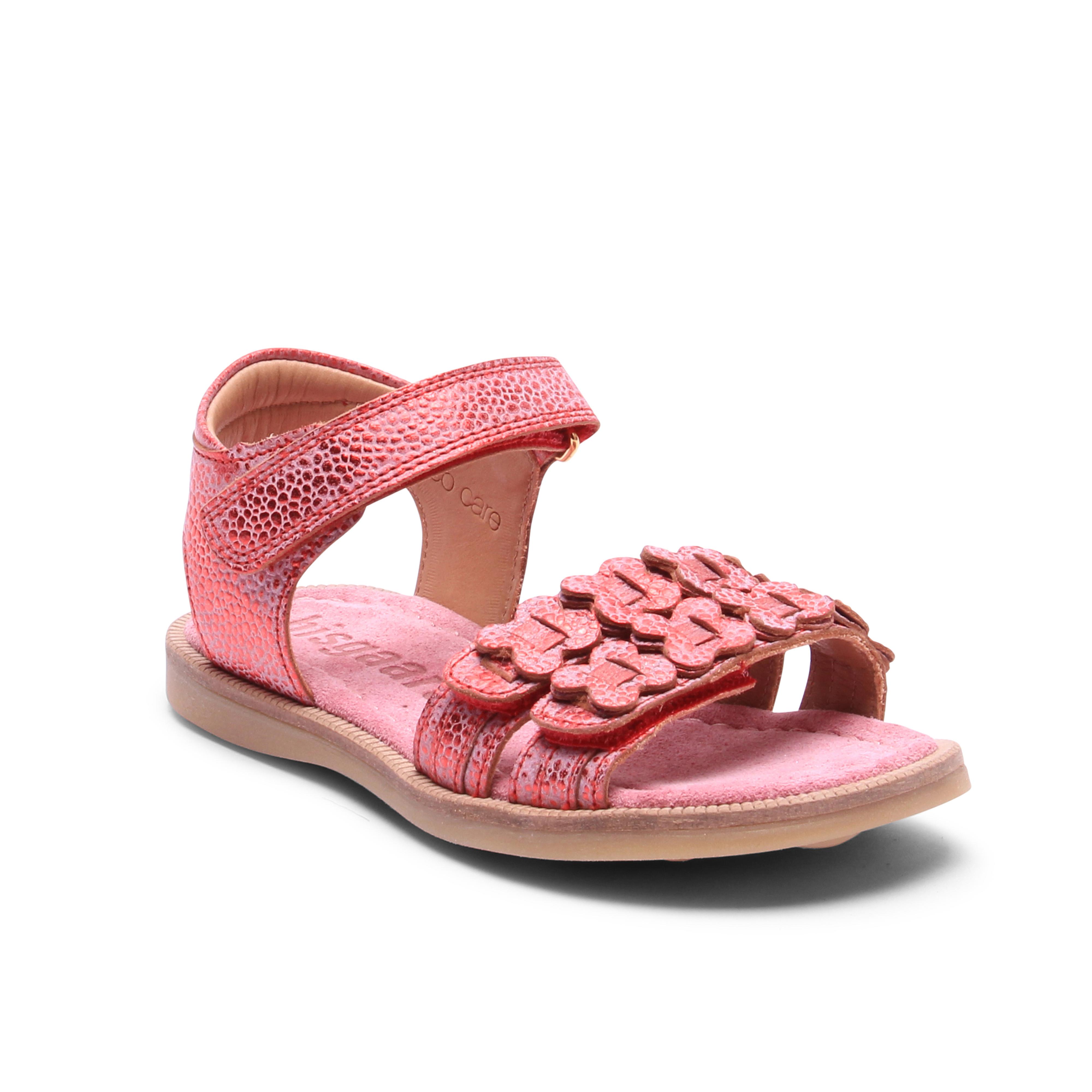 Bisgaard 70272 sandal, berry, 25