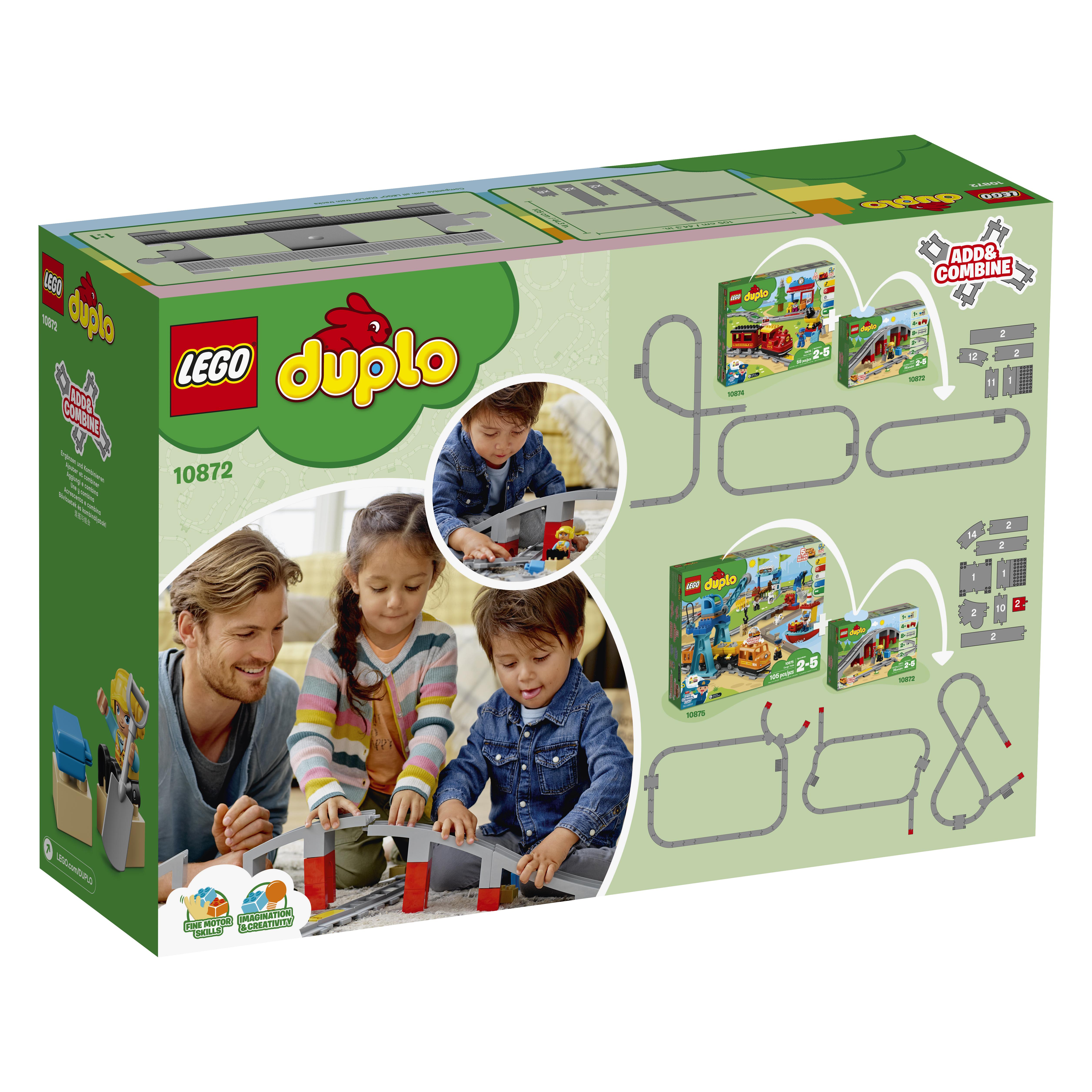 LEGO DUPLO Togbro og spor - 10872