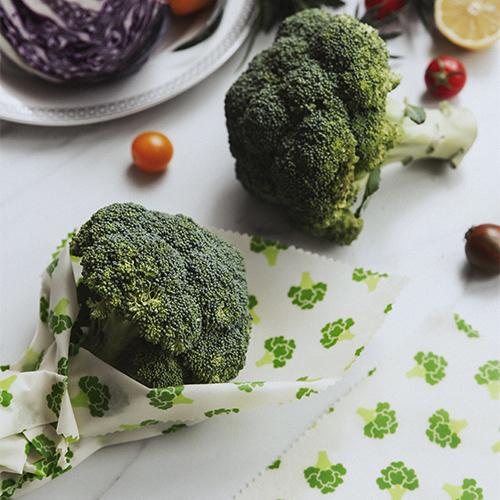Nuts bivoksindpakning, broccoli, 3 stk