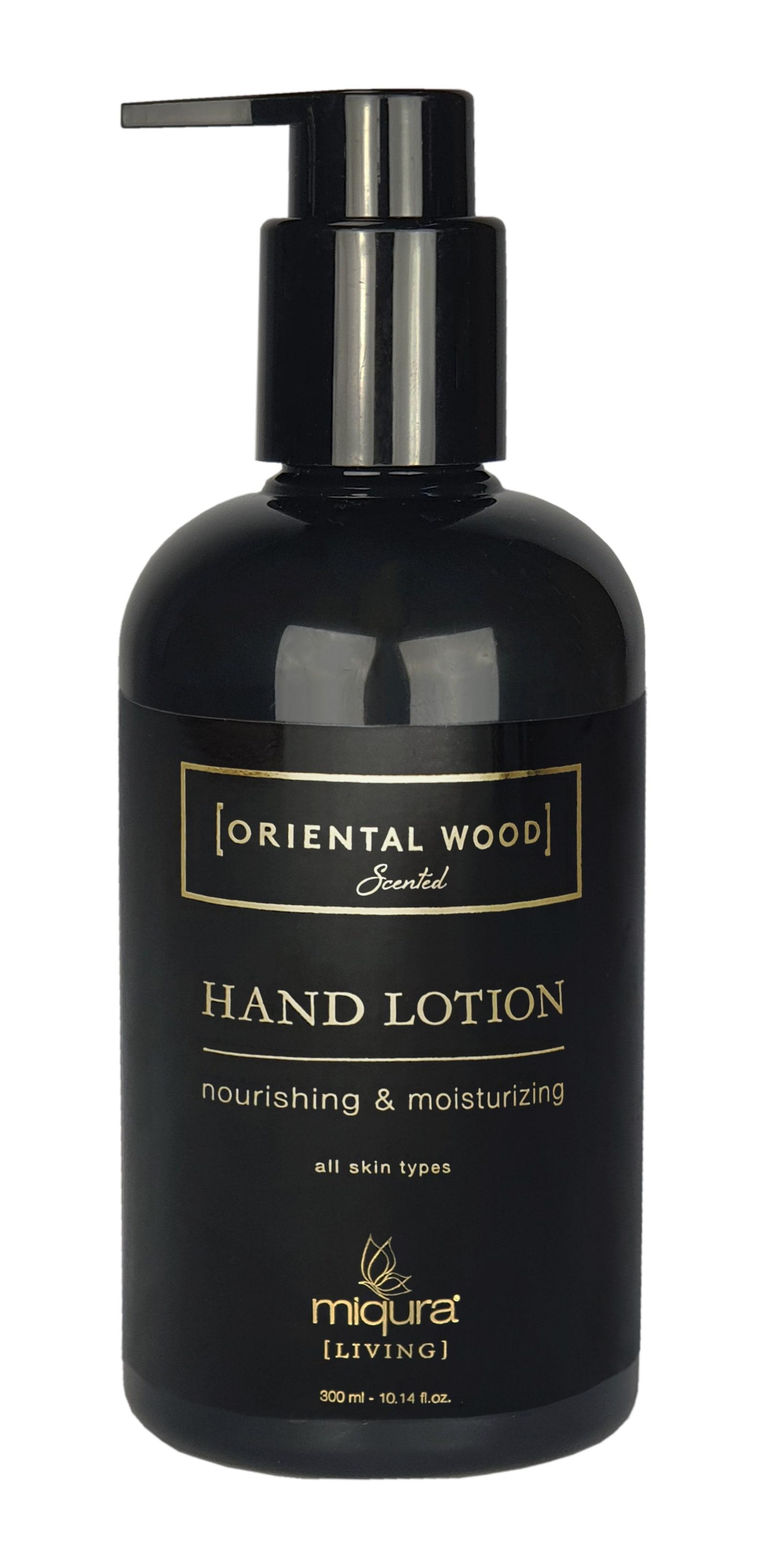 Miqura Living Oriental Wood Hand Lotion, 300 ml