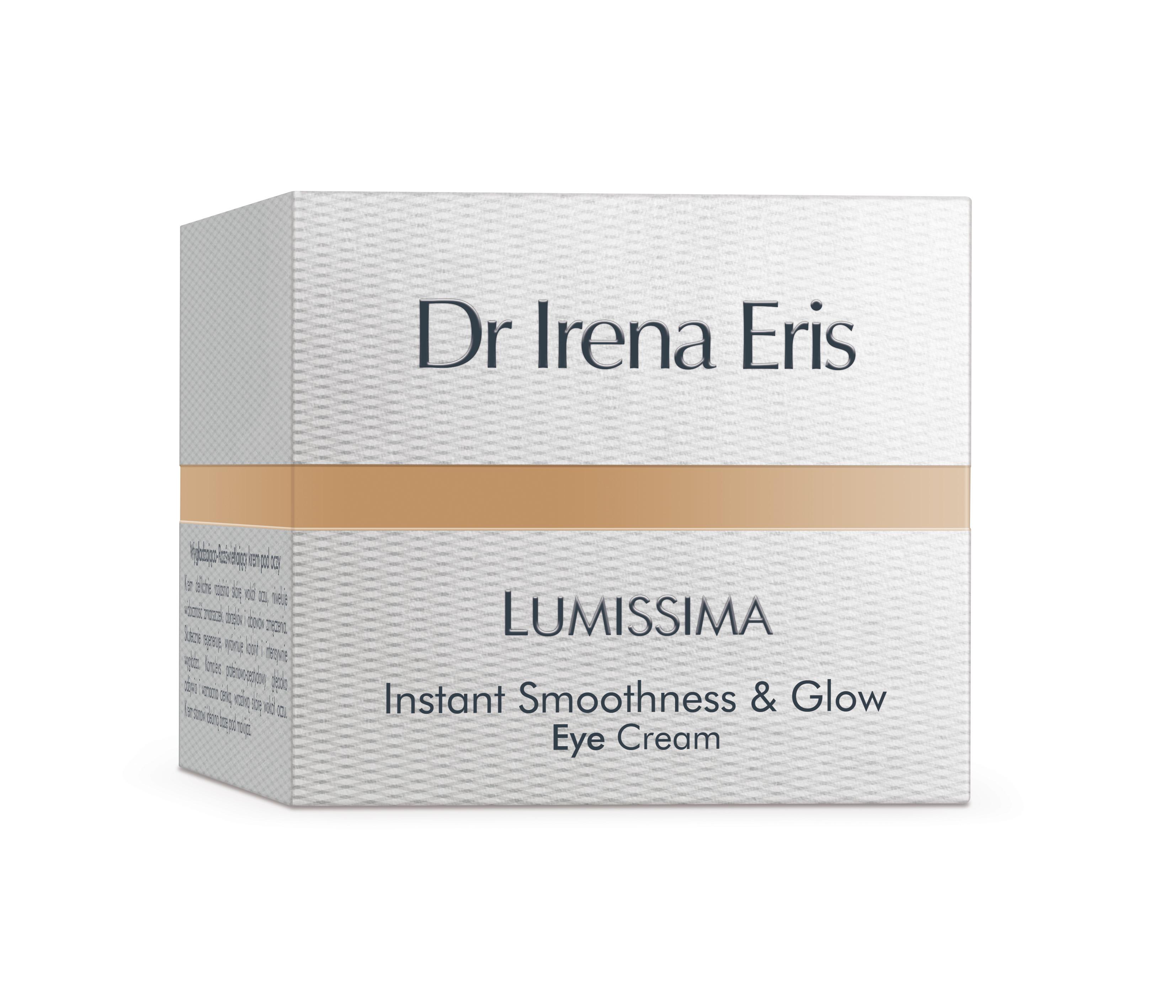 Dr Irena Eris Lumissima Instant Smoothness & Glow Eye Cream, 15 ml