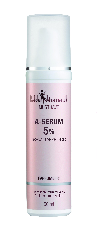 Pudderdåserne A-Serum 5%, 50 ml