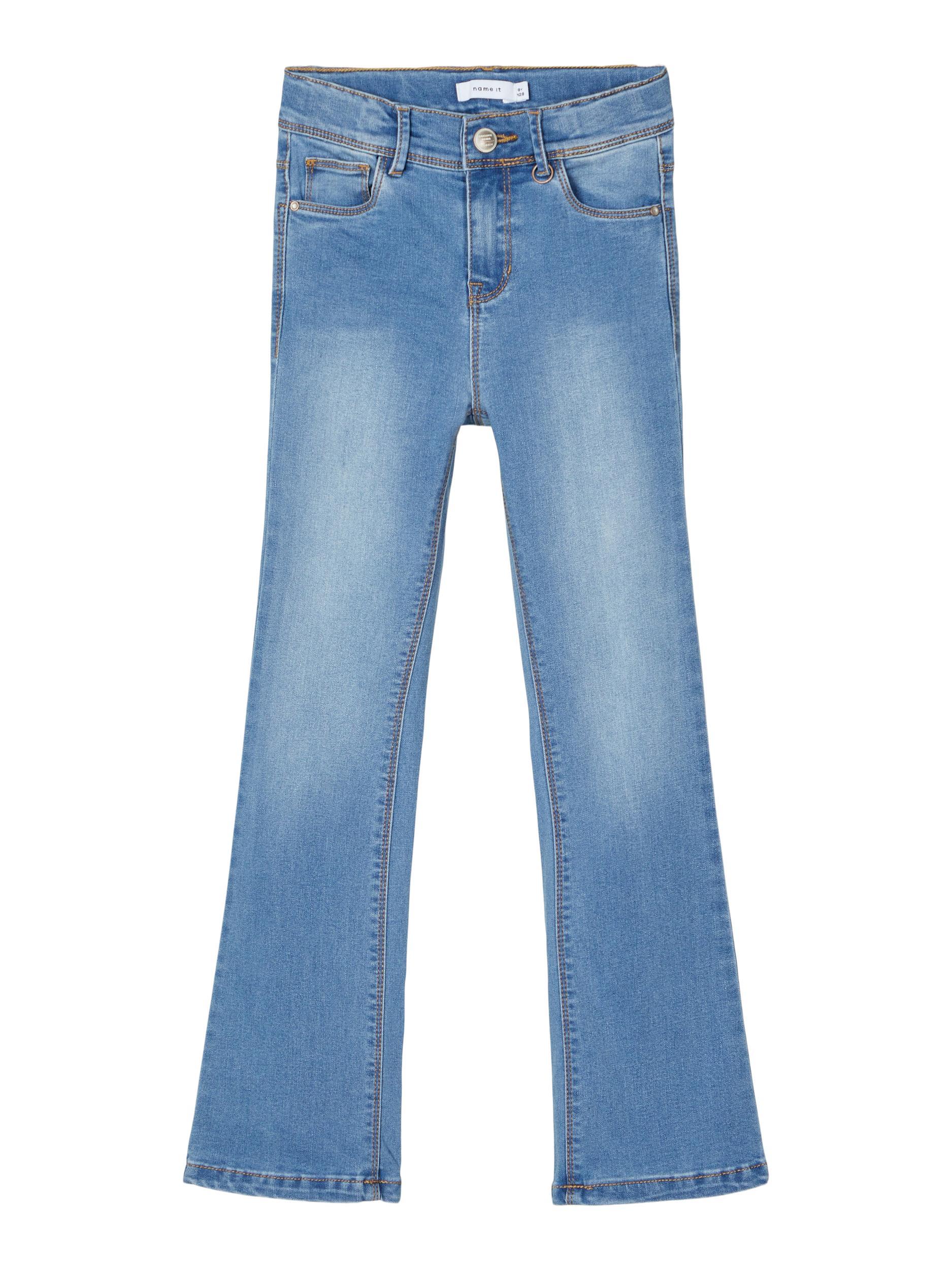 Name It Polly Trillas jeans, medium blue denim, 134