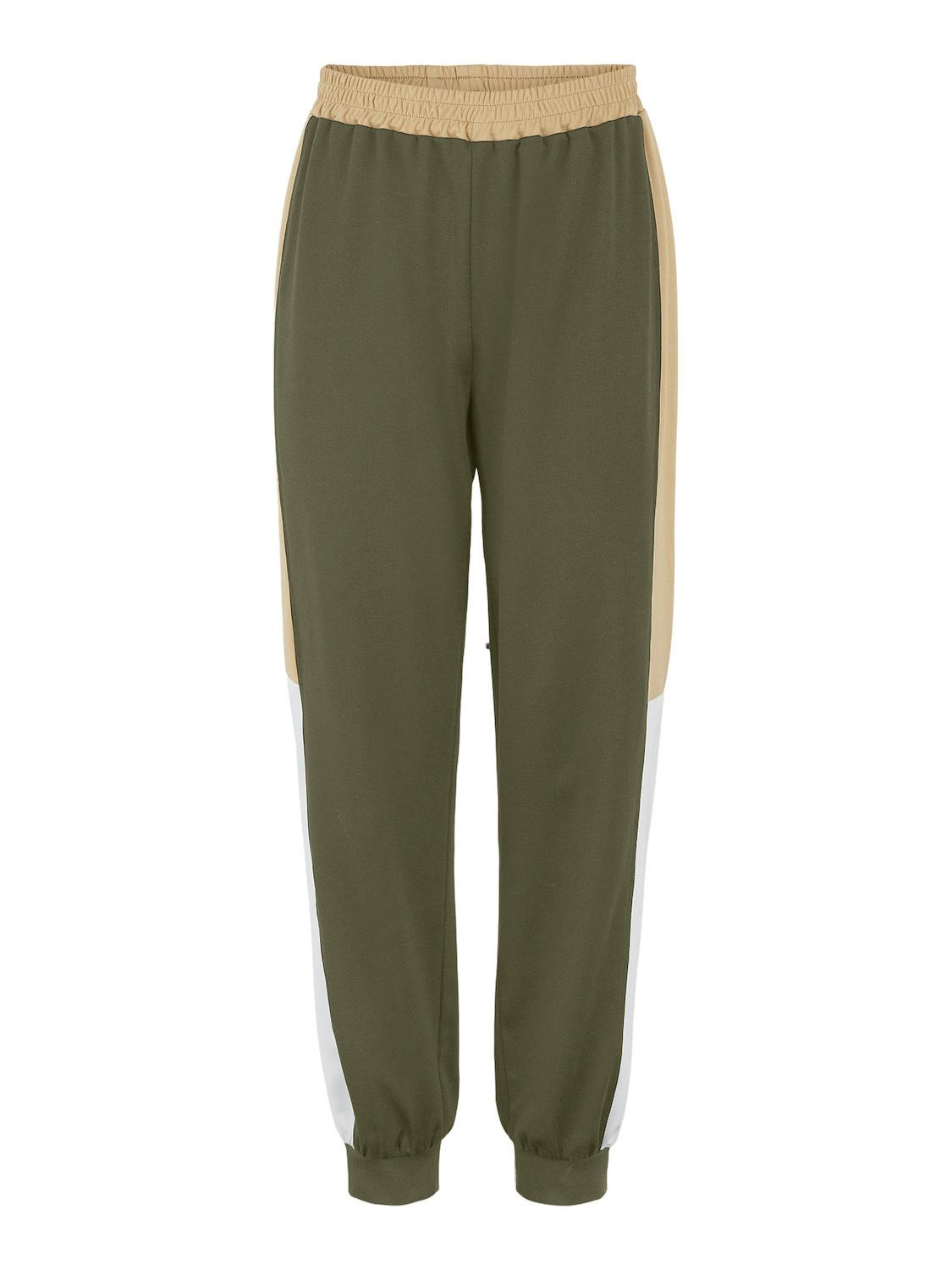 Pieces Maggya HW sweatpants, winter moss, x-small